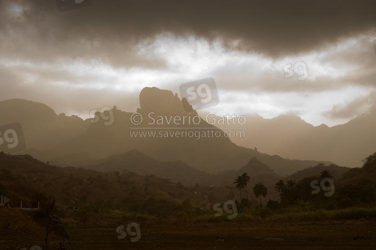 Mountains in Santiago (Cape Verde)