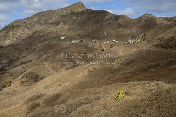Landscape in Santiago, Cape Verde
