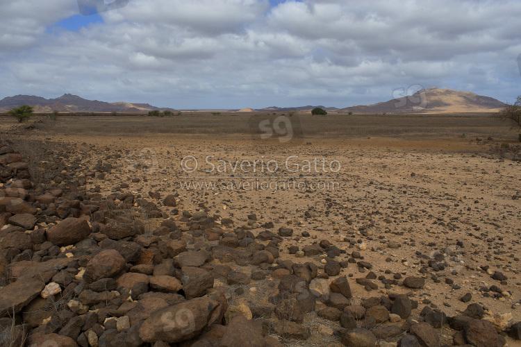 Landscape in Boavista (Cape Verde)