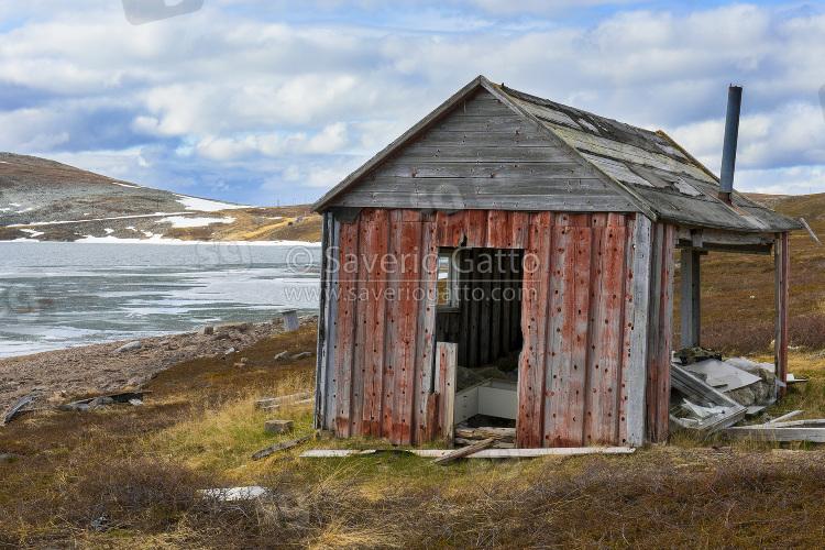 Old House at Batsfjordfjellet