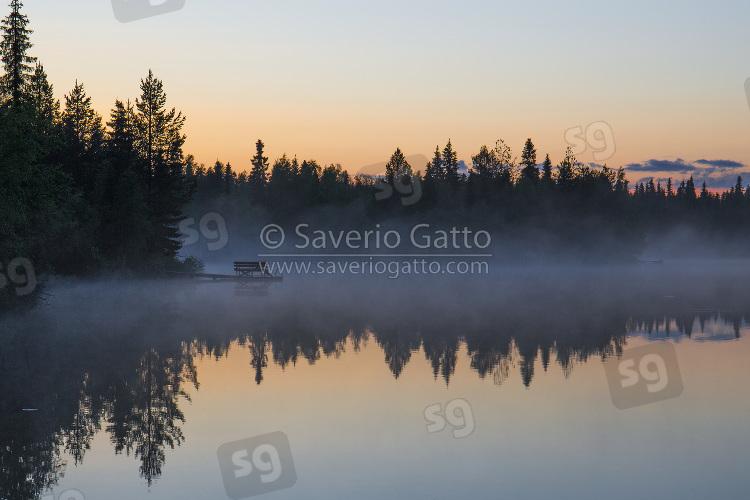 Lago Porontima - Finlandia