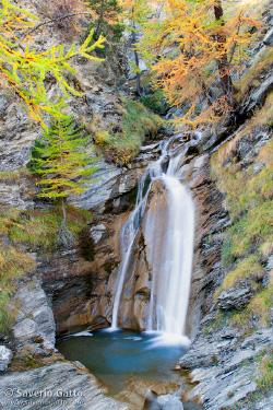 Cascata in Val Varaita