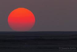 Tramonto sul Quarto Vuoto - Oman