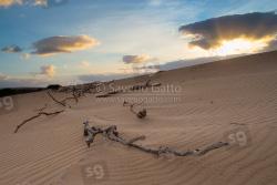 Dune di sabbia a Boavista (Capo Verde)
